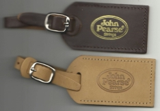 John Pearse® Leather Instrument Case Tags